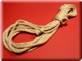 Manila Rope, Natural-Coloured, Length: 5 Metres